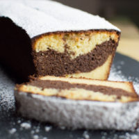 torta marmorizzata senza glutine e senza zucchero