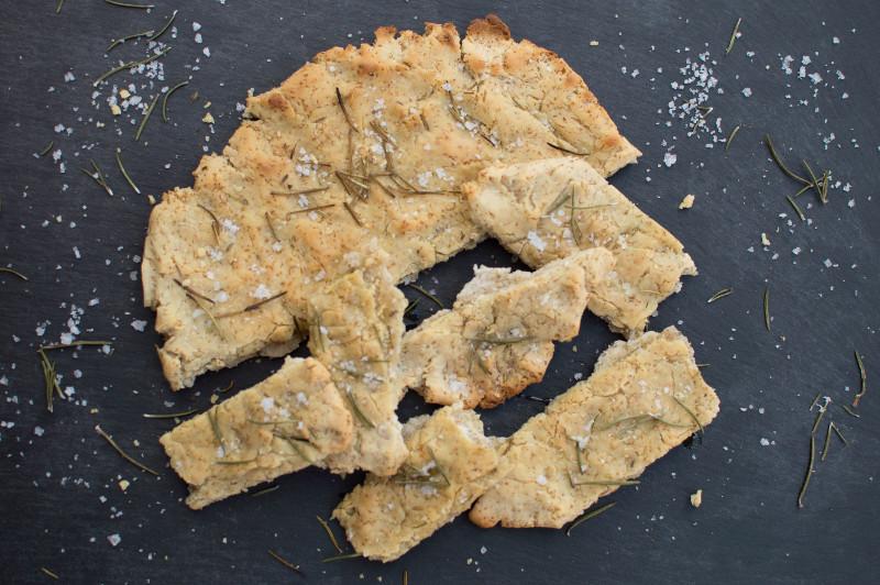 Pane croccante senza glutine