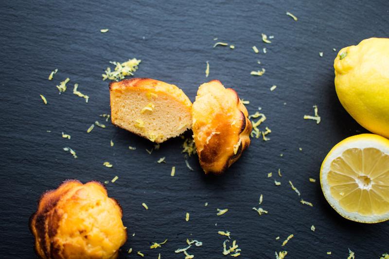 Paleo muffins al limone